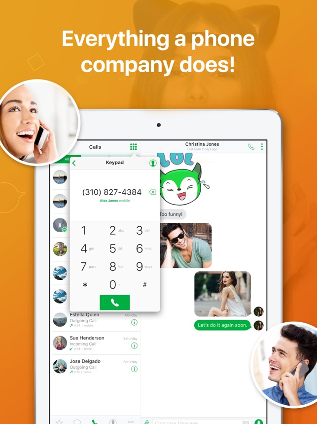 Nextplus: Private Phone Number Screenshot