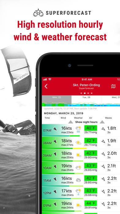 Windfinder Pro Wind & Weather Screenshots