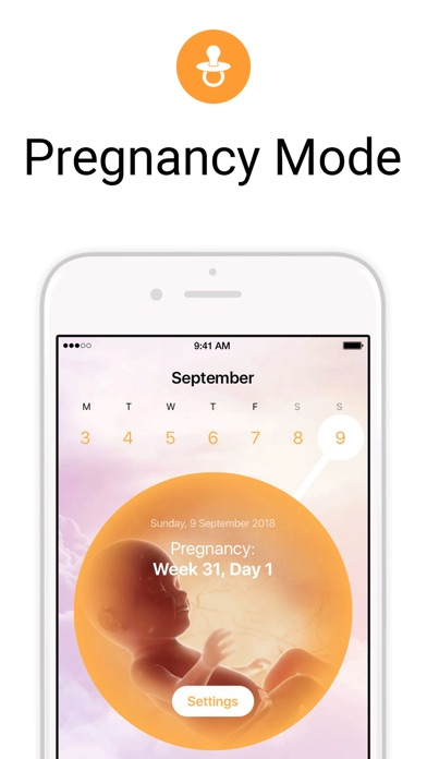 Flo Period & Ovulation Tracker Screenshot on iOS
