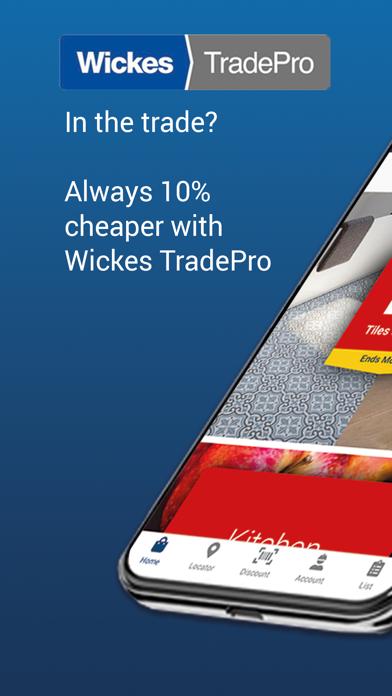 Wickes TradePro screenshot one