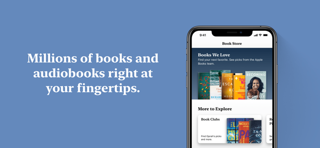 ‎Apple Books Screenshot