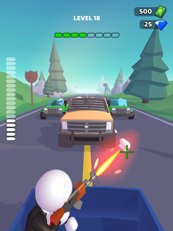 Rage Road - Car Shooting screenshot 6