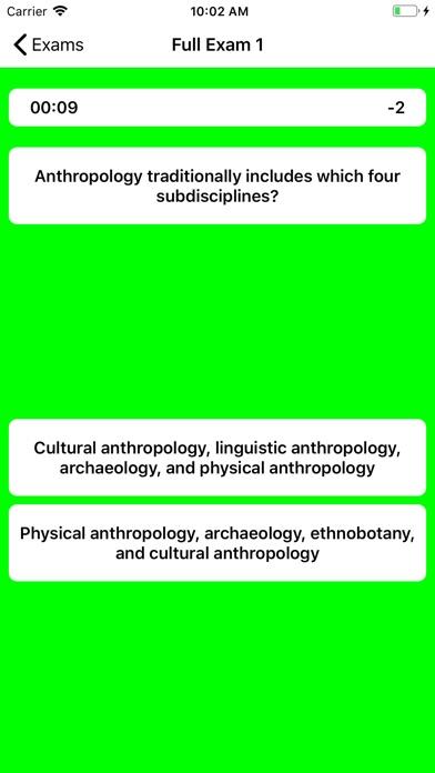 DSST Anthropology Buddy screenshot 5