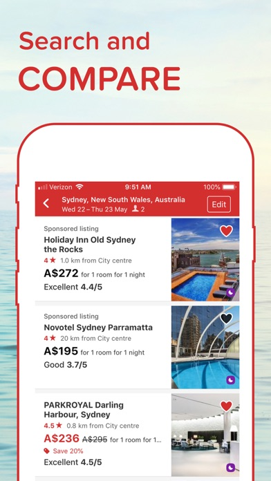 Hotels.com: Book Hotels & More for Windows