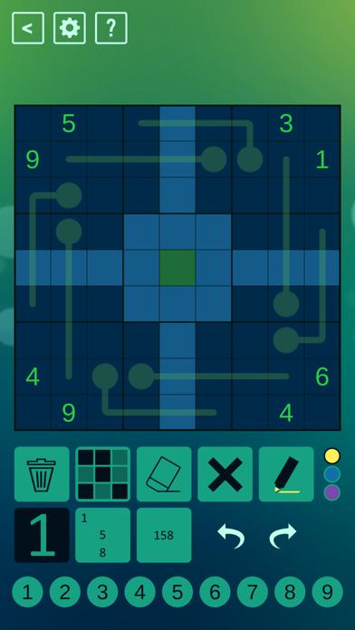 Thermo Sudoku screenshot 3