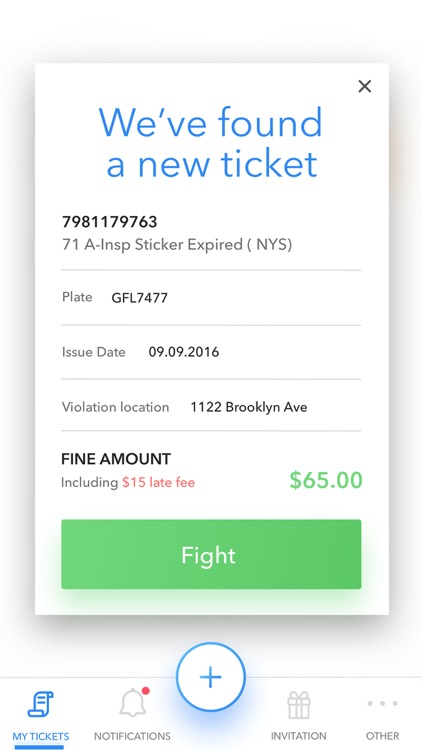 WinIt - Fight Your Tickets