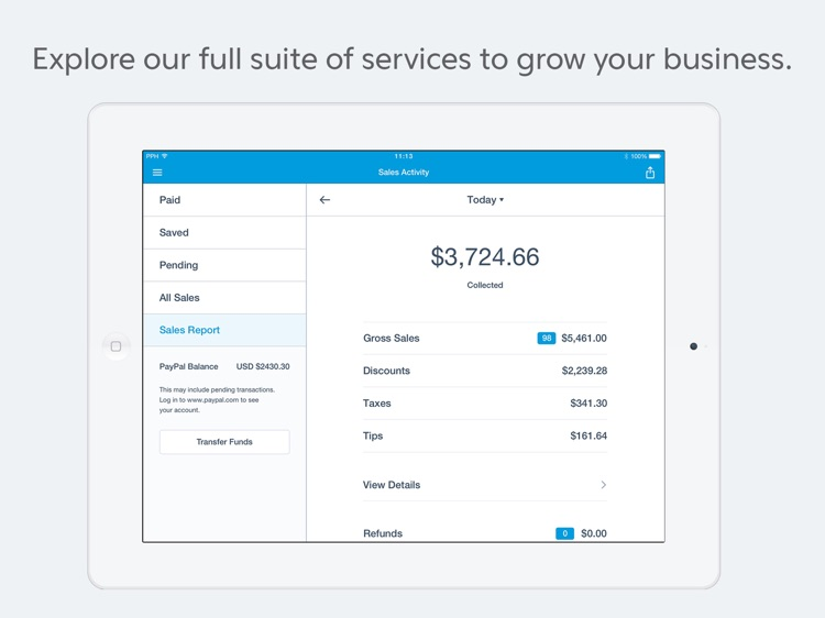 PayPal Here : Point of Sale screenshot-4