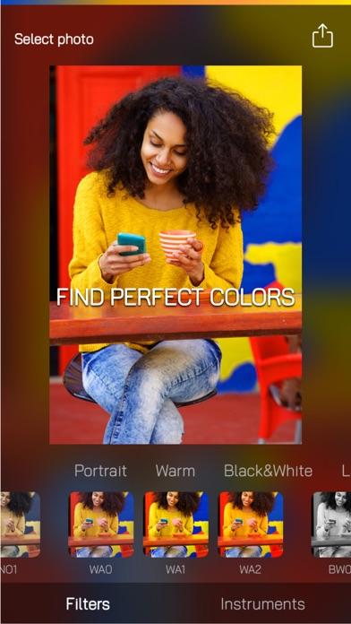 点击获取ColorCube: simple photo editor