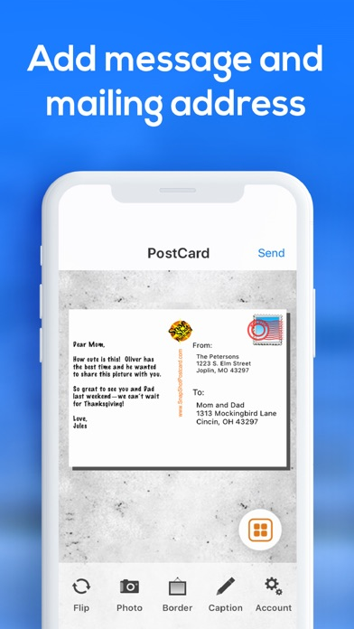 Postcard App by SnapShot screenshot three