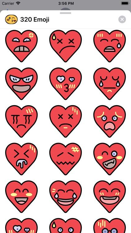 320 Emoji screenshot-3