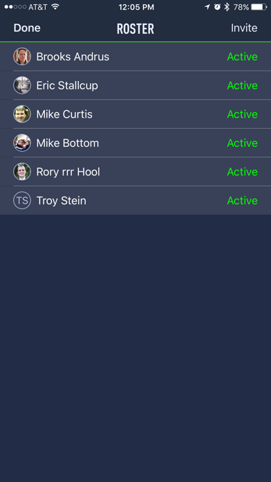 VIP & TEAM Coach's Eye Members Screenshot