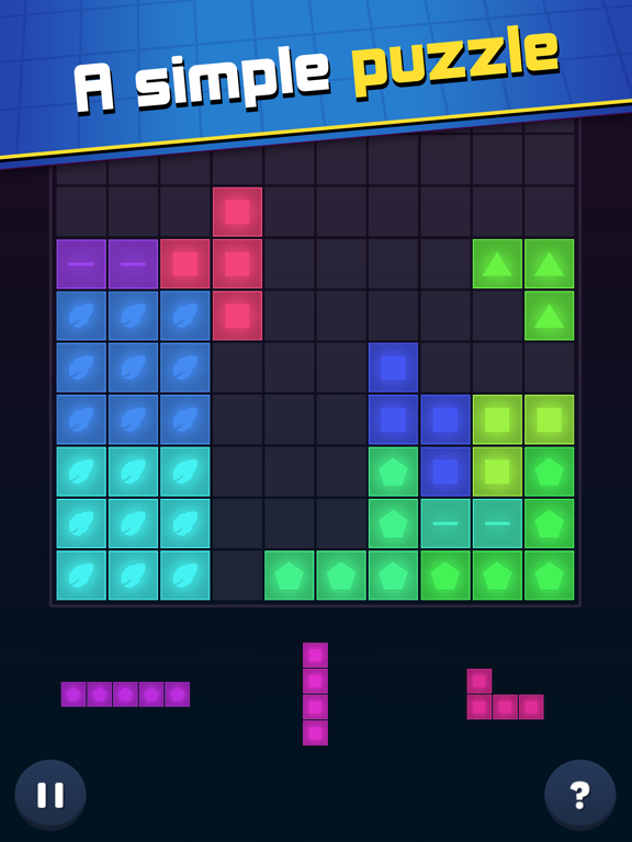 iPad Image of Cube Cube: Puzzle Game