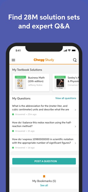 Chegg Study - Homework Help on the App Store