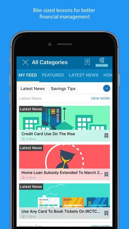 BankBazaar- Credit Card, Loans screenshot-3