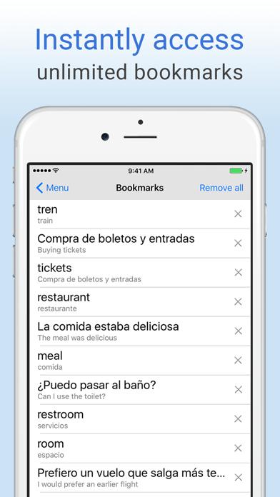 English+Spanish Dictionary screenshot four