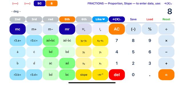 SciPro Math Screenshot