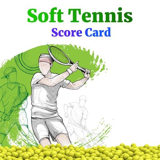Soft Tennis Score Card
