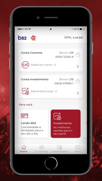 BS2 Flamengo: O banco da Nação screenshot-3