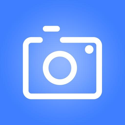 Photographic equipment rental icon