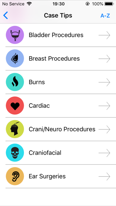 Vargo Anesthesia Mega App Screenshot