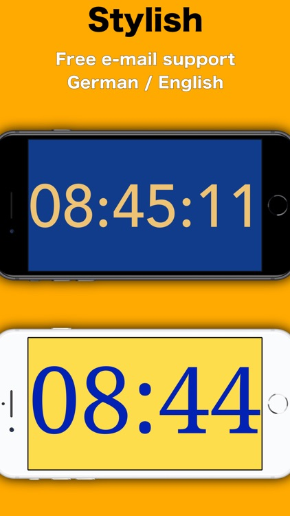 Simply Clock - Digital screenshot-4