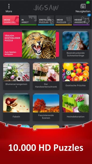 Herunterladen Jigsaw Puzzle HD Puzzle-spiele für Pc