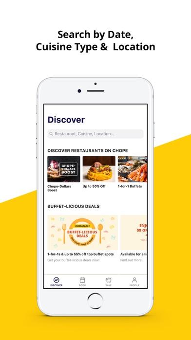 다운로드 Chope Restaurant Reservations Android 용