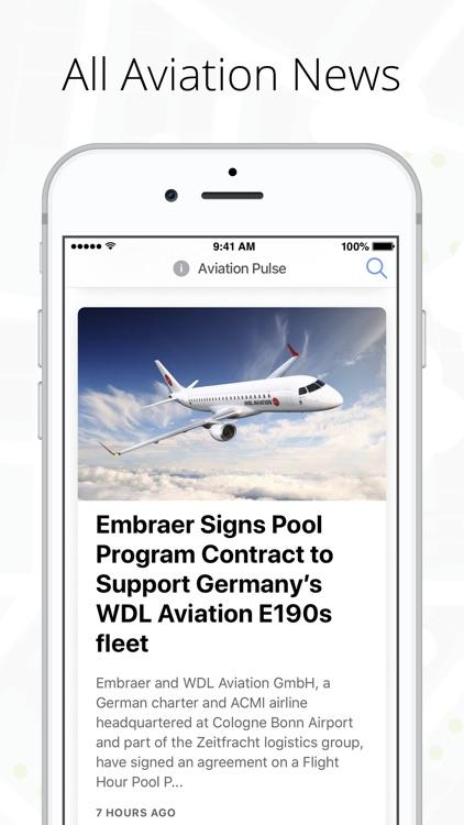Aviation Pulse - News & Events screenshot-0