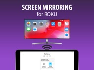 Screen Mirroring+ for Roku ipad images