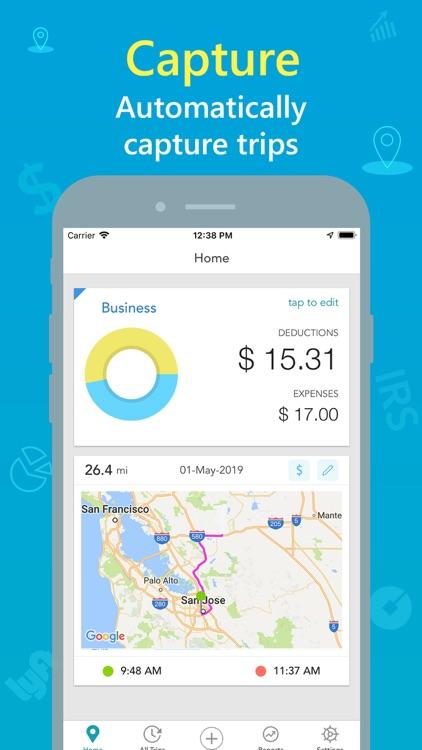 Swift Miles - Mileage Tracker screenshot-1