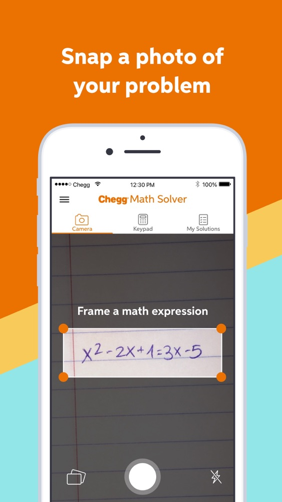 Chegg Math Solver - math help App for iPhone - Free Download Chegg