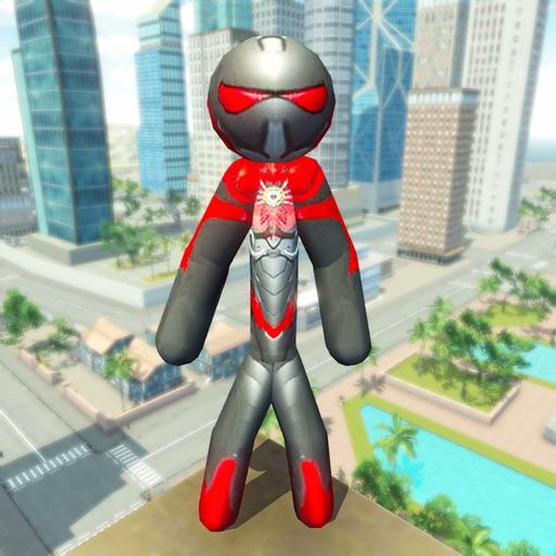 Baixar Stickman Rope Hero Original para iOS
