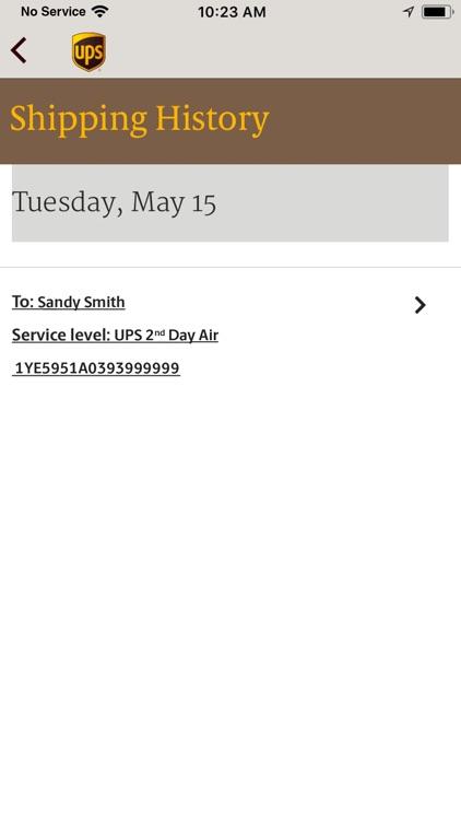 UPS Mobile screenshot-3