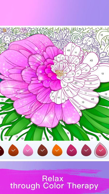 Paint Color: Color by Number screenshot-4