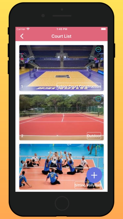 Volleyball Ground Manager - 窓用