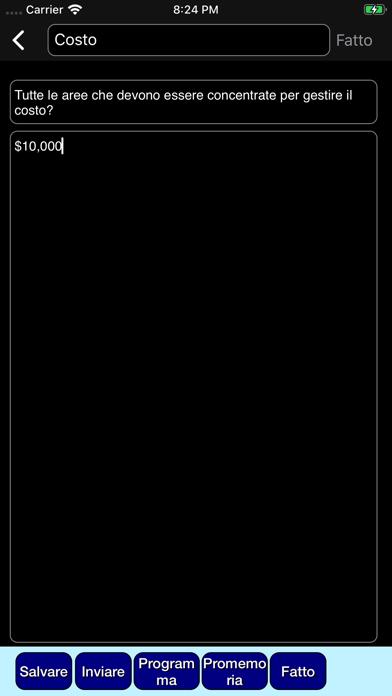 Screenshot of Organizzatore del progetto3