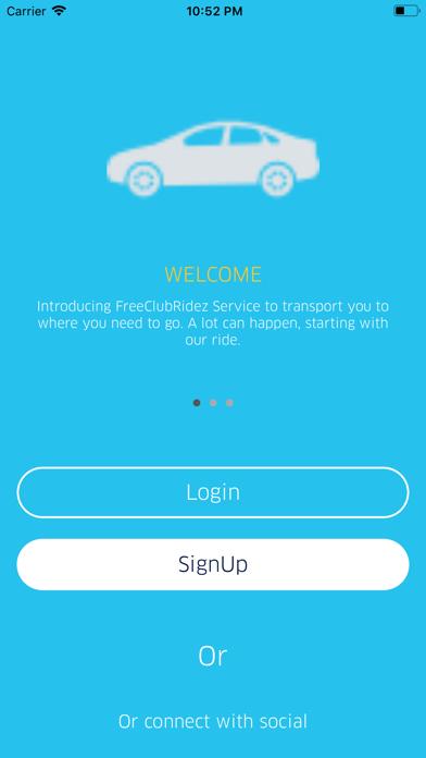 FreeClubRidez screenshot 1