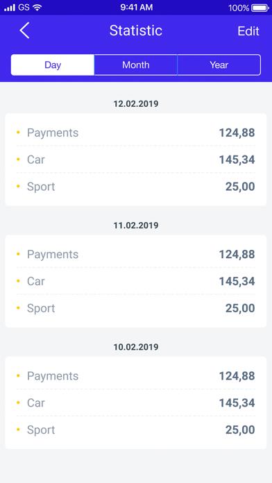 PiggyBank. Manage your finance app image