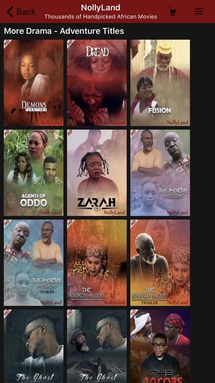 NollyLand - Nigerian Movies screenshot-5