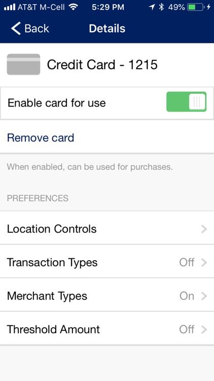 First Volunteer Credit Card screenshot-5