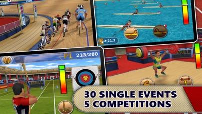 Athletics: Summer Sports HD screenshot 1