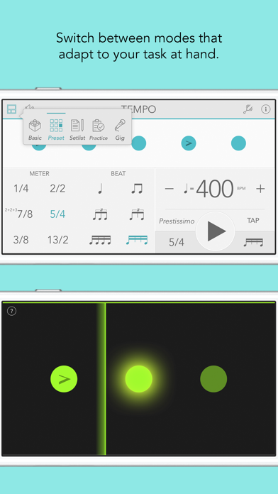 Tempo review screenshots