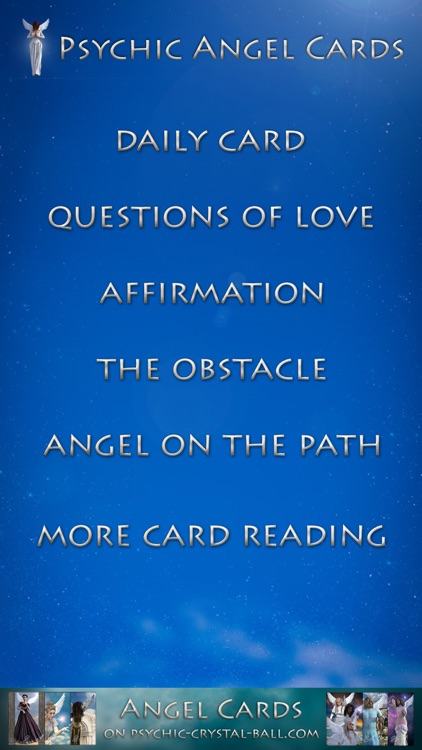 Psychic Angel Cards screenshot-5