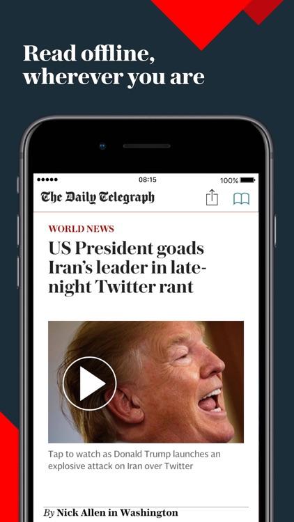 Telegraph Newspaper Edition UK screenshot-8