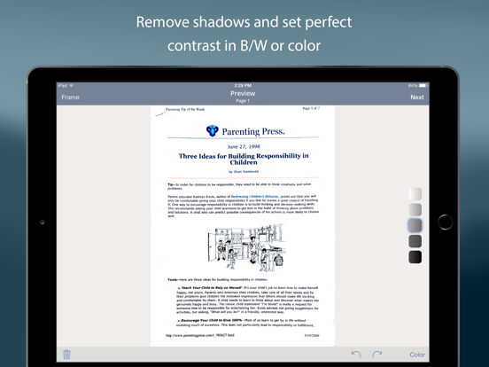 TurboScan™ Pro: PDF scanner Screenshots