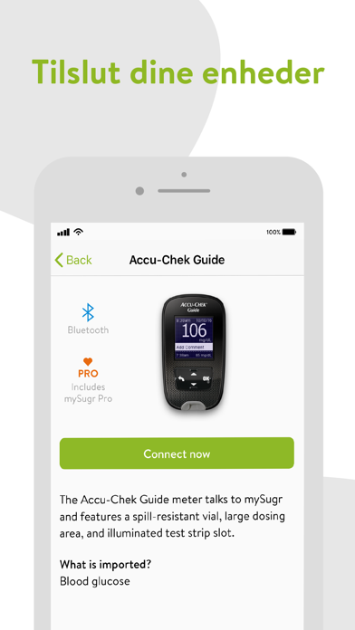 Screenshot for mySugr – Diabetessporingsapp in Denmark App Store