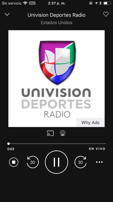 Screenshot for TuneIn Radio Pro in Chile App Store