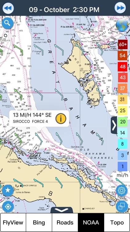 Wind forecast for Windgurus screenshot-3