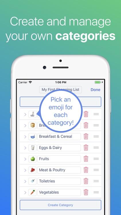 Grocery List ◎ screenshot-3