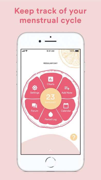 Period Diary (Period & Ovulation Tracker) screenshot
